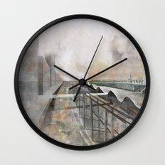 Paris d'avenir 3 Wall Clock