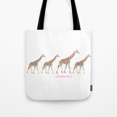 Stand Out - Giraffes Tote Bag