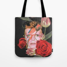 More than human (Bowie) Tote Bag