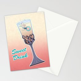 Sweet Drink Stationery Cards