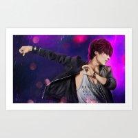shinee Art Prints featuring SHINee - Taemin by Nikittysan
