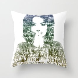 Bjork Human Behaviour  Throw Pillow