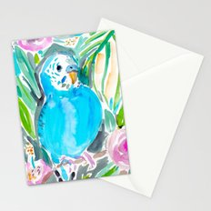 Chipper the Budgie Stationery Cards