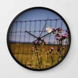Pretty. Prickly. Wall Clock