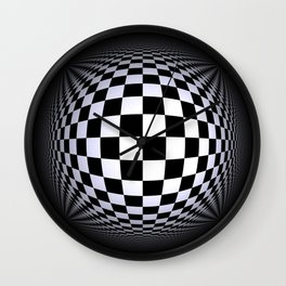 black-and-white -01- Wall Clock