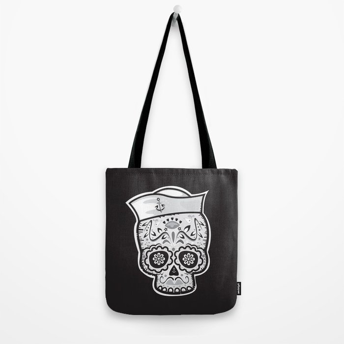 Marinero muerto sugar skull Tote Bag