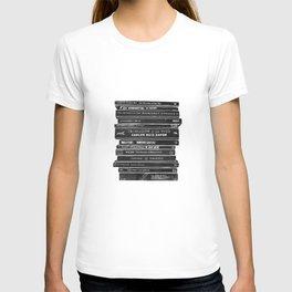 Mono book stack 1 T-shirt