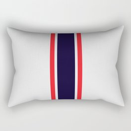 Silver Racer Rectangular Pillow