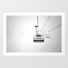 Lift to heaven Art Print