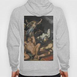 Abraham Bloemaert - Apollo and Diana Punishing Niobe by Killing her Children (1591) Hoody