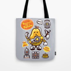 Mrs. Potato GLADos Tote Bag