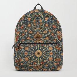 Holland Park Carpet by William Morris. Finest American art. Backpack