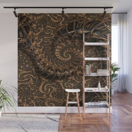 Gold Mine Spiral Wall Mural