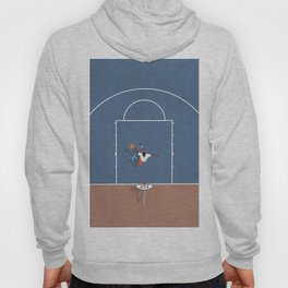 Slam Dunk | Basketball Court From Above  Hoody