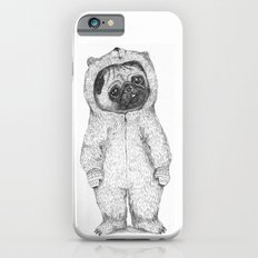 Winter pug iPhone 6 Slim Case