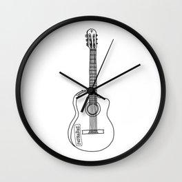 Classical Guitar #1 Wall Clock