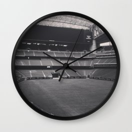 Home of the Texans Wall Clock