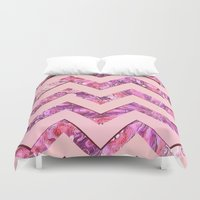 girly Duvet Covers featuring Girly Pink by gretzky