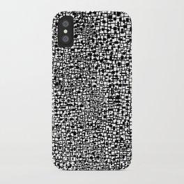 Black & White 11 iPhone Case