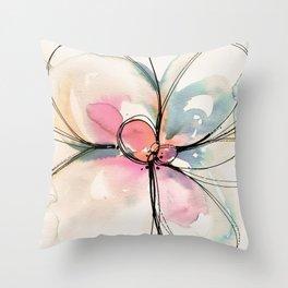 Ecstasy Bloom No.21j by Kathy Morton Stanion Throw Pillow