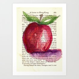 Apple a Day Art Print