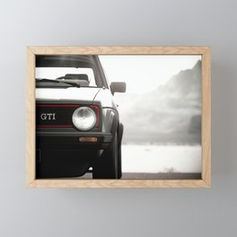 Golf GTI A Golf 1 GTI  Framed Mini Art Print