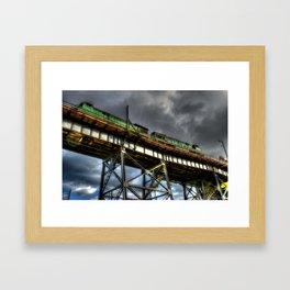 'High Above' Framed Art Print