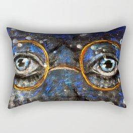 Gatsby Eyes Rectangular Pillow
