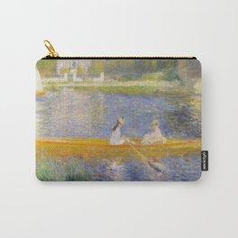 The Skiff (La Yole) by Pierre-Auguste Renoir Carry-All Pouch
