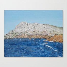 Sicilia painting Canvas Print