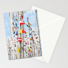 When the flags fly  Stationery Cards