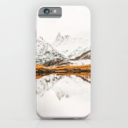 Glacial Reflection iPhone Case