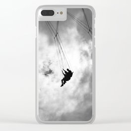 Up in the Sky Clear iPhone Case