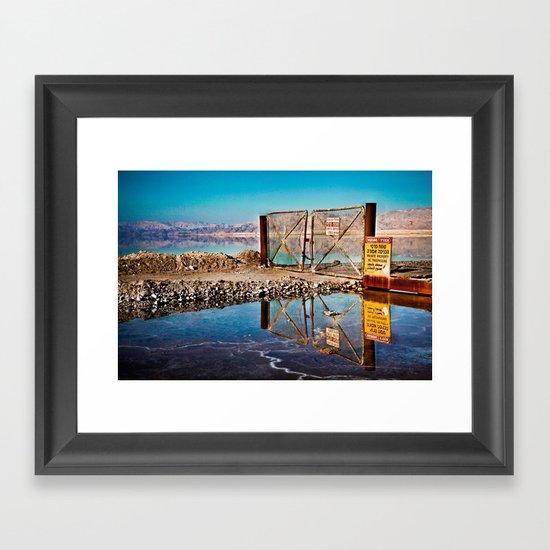 Low tech Framed Art Print