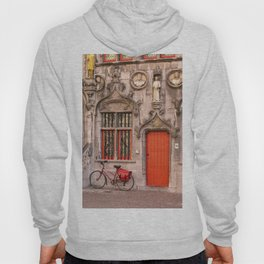 Bicycling in Bruges Hoody