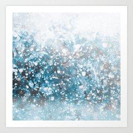 Snowflakes Kunstdrucke