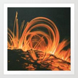 Coronal Mass Ejection Art Print