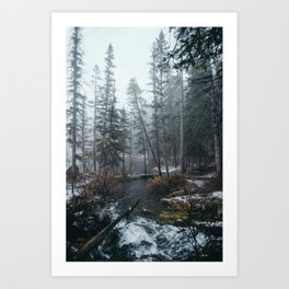 Canmore Art Print