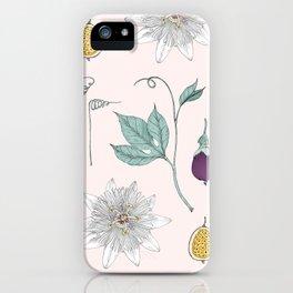 Passionfruit iPhone Case