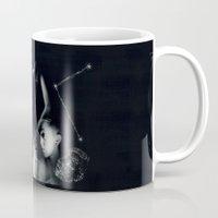 constellation Mugs featuring Constellation  by gamma-radio