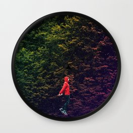 I know this shortcut through the stars Wall Clock