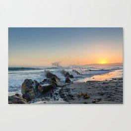 Santa Barbara Coastline Canvas Print