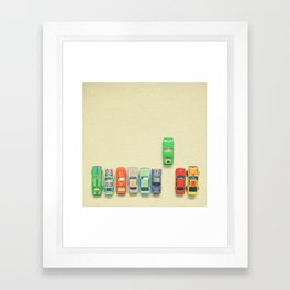False Start Framed Art Print
