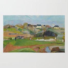 Paul Gauguin - Landscape at Le Pouldu Rug