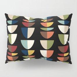 Retro Abstract, Vintage Mid Century Modern Pillow Sham
