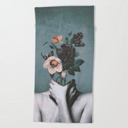 inner garden 3 Beach Towel