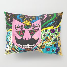 The cosmic Afro Pillow Sham