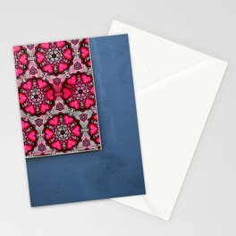Romany Love 510 on blue wall Stationery Cards