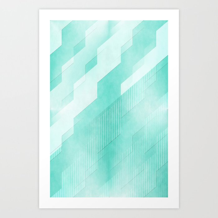 Pattern 2017 001 Art Print