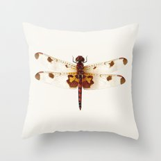dragonfly #4 Throw Pillow
